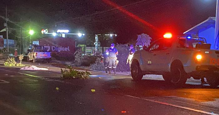 Un hombre muere tras ser arrollado por tres vehículos en San Miguel