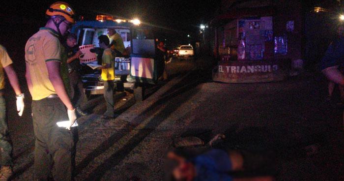 Hombre muere al ser atropellado cerca de una pasarela en carretera Troncal del Norte