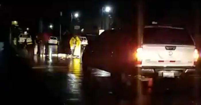 Anciana perdió la vida tras ser atropellada por una rastra sobre carretera de Oro