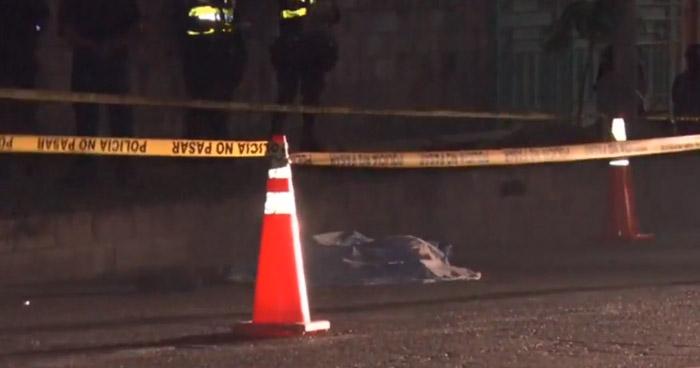 Hombre pierde la vida al ser atropellado en carretera a Acajutla