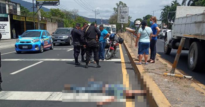 Hombre pierde la vida tras ser atropellado en Lourdes, Colón