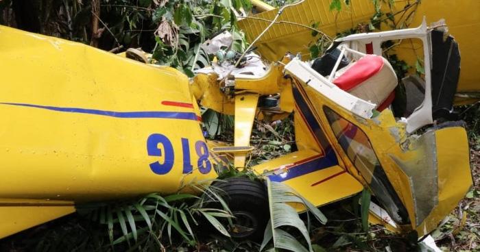 Muere segunda victima tras accidente de avioneta en Volcán de San Salvador
