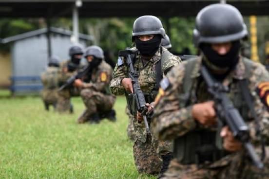 Ejército y Fuerza Armada salvadoreña apoyará en adiestramiento a Nicaragua