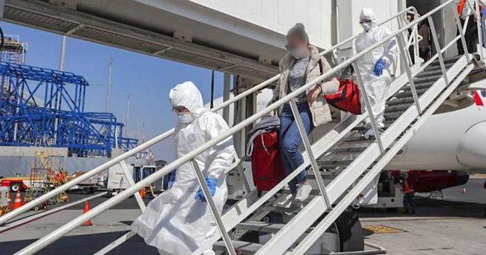 Otra salvadoreña procedente de China arribó este miércoles al país