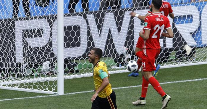 Bélgica golea (5-2) a Tunez, y se clasifica a los octavos de final