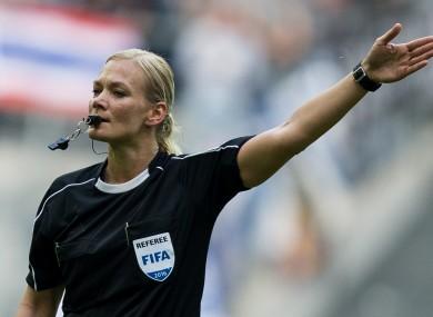 La primera mujer que arbitrará en una de las 4 grandes ligas