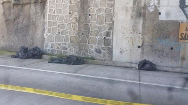 Encuentran un cadáver embolsado en el Bulevar Monseñor Romero