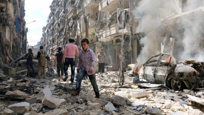 35 muertos por bombardeos al noreste de Siria