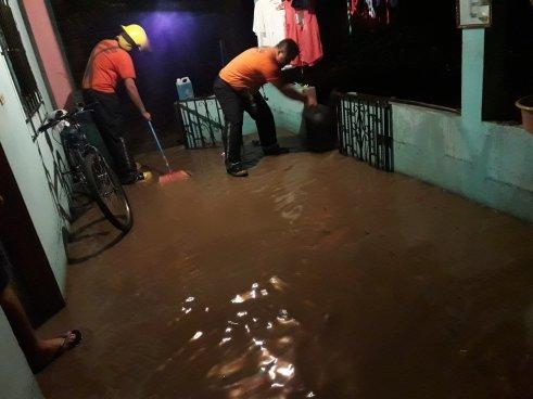 Inundaciones de hasta 30 centímetros en Metapán