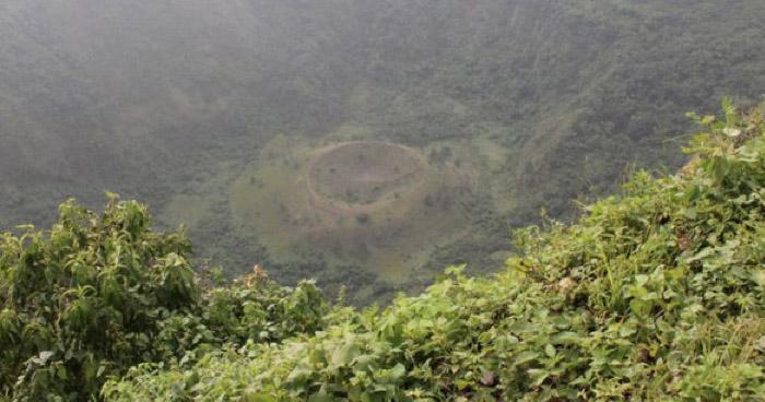 11 personas se extraviaron este domingo en cráter de El Boquerón