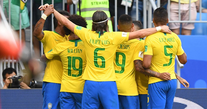 México queda eliminado, Brasil clasifica a los cuartos de final de Rusia 2018