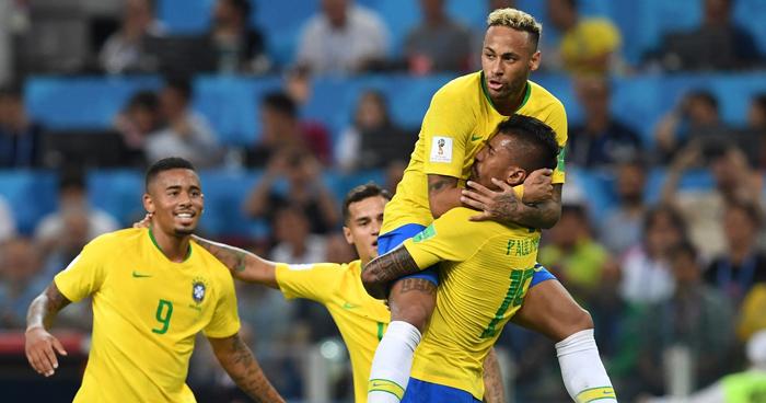 Brasil se queda con el liderato del grupo E, Suiza clasifica en el segundo puesto