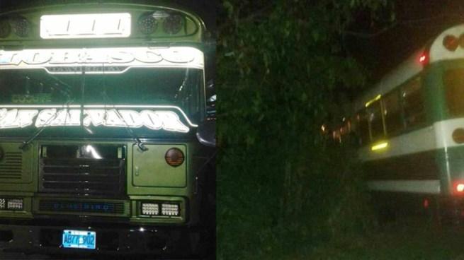 Un fallecido tras ametrallamiento a bus de la ruta 111 en Cojutepeque