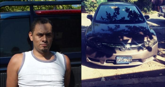 Cabecilla de pandilla capturado al intentar evadir control policial