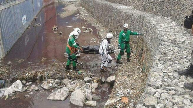 Encuentran cadáver en una quebrada de la comunidad Nueva Esperanza