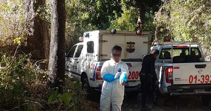 Hallan cadáver en quebrada de Santiago de María, en Usulután