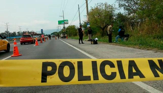 Encuentran el cadáver de un hombre sobre carretera Panamericana, altura del desvío de Opico