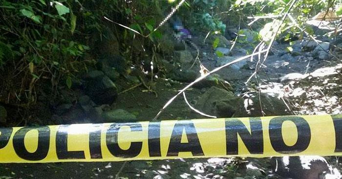 Hallan cadáver de pandillero en Tecoluca, San Vicente