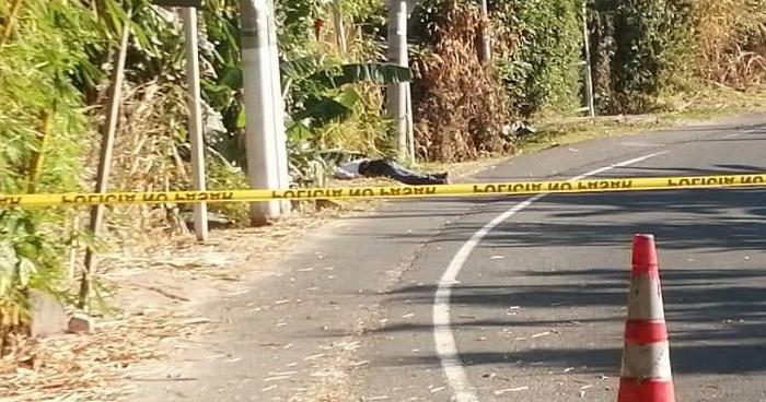 Hallan cadáver de un hombre en calle antigua a Olocuilta