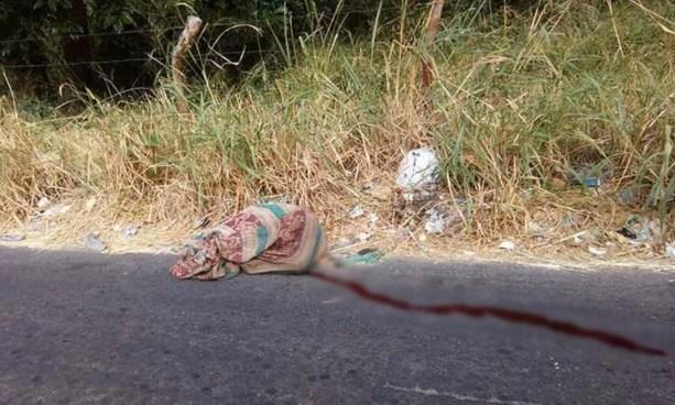 Encuentran un cadáver envuelto en sábanas cerca de la carretera de Oro, Soyapango