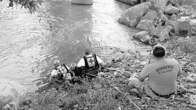 Encuentran el cadáver del joven que se ahogó en río Lempa