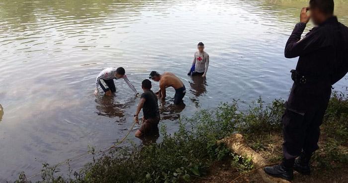 Recuperan el cadáver de un joven que se ahogó en una laguna de Santa Ana