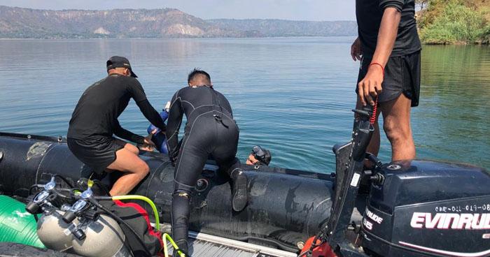Encuentran cadáver de hombre que desapareció ayer en el lago de Ilopango