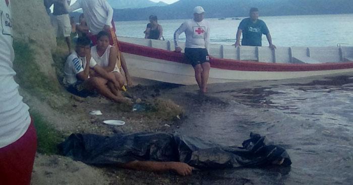 Recuperan cuerpo sin vida de un hombre que había desaparecido en el Lago de Ilopango