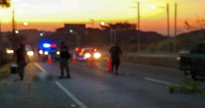 Encuentran cadáver de una mujer en carretera a Comalapa