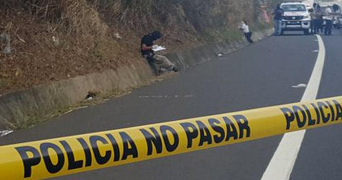 Mujer pierde la vida al ser atropellada en carretera de Oro, Soyapango