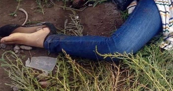 Encuentran a mujer estrangulada con alambre de púas en Ciudad Arce