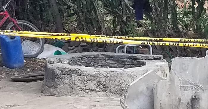 Hallan cadáver de un hombre dentro de un pozo en San Alejo, La Unión