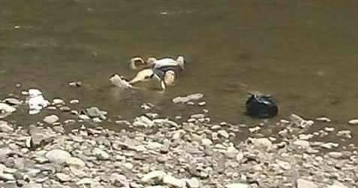 Encuentran cadáver de un hombre en represa de Ciudad Delgado