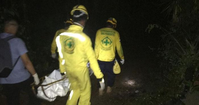 Recuperan cadáver de una mujer en zona rural de Cabañas