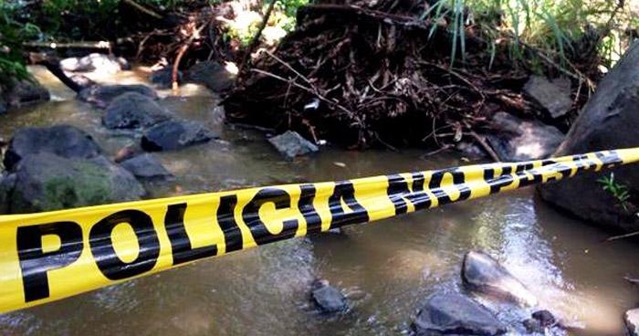 Hallan cadáver descompuesto de un hombre en río de Nahuizalco, en Sonsonate