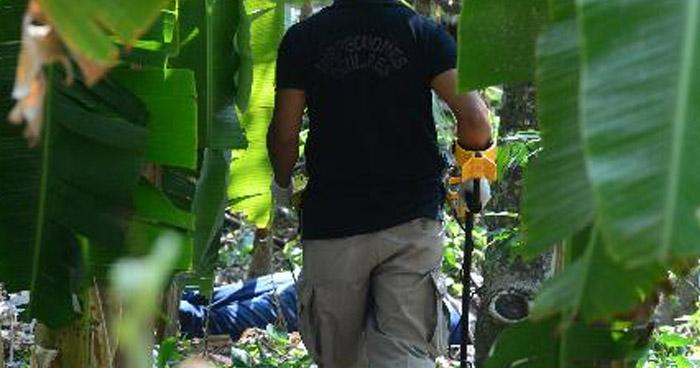 Abandonan cadáver de Tamanique, La Libertad