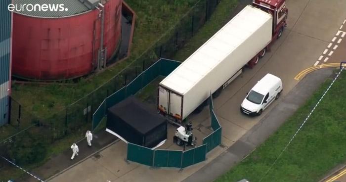 Víctimas del camión de Essex podrían ser vietnamitas