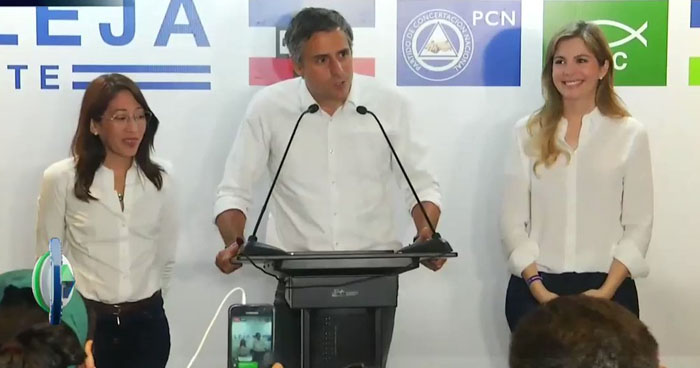 Carlos Calleja reconoce la victoria de Nayib Bukele