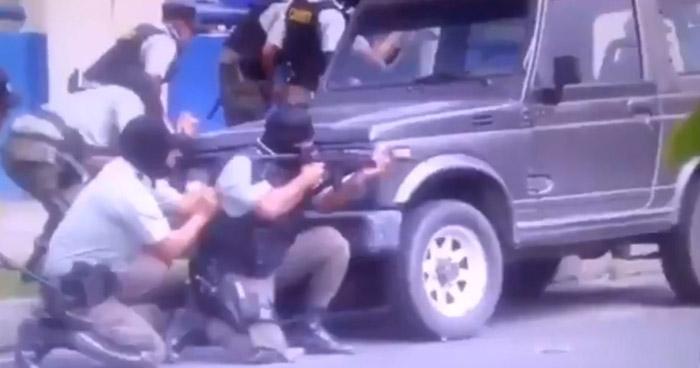 Incautan armas de agentes del CAM de Santa Tecla que se enfrentaron a los vendedores