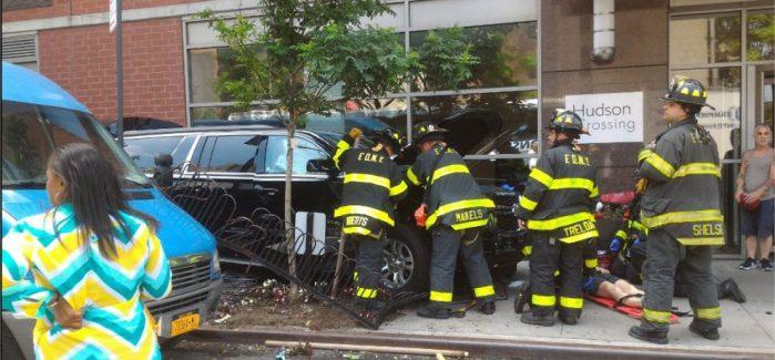 Al menos 10 heridos al ser atropellados por una camioneta en Manhattan, Nueva York