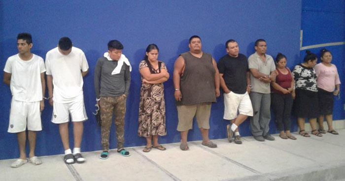 Capturan a pandilleros por homicidios, violaciones y secuestros en La Paz