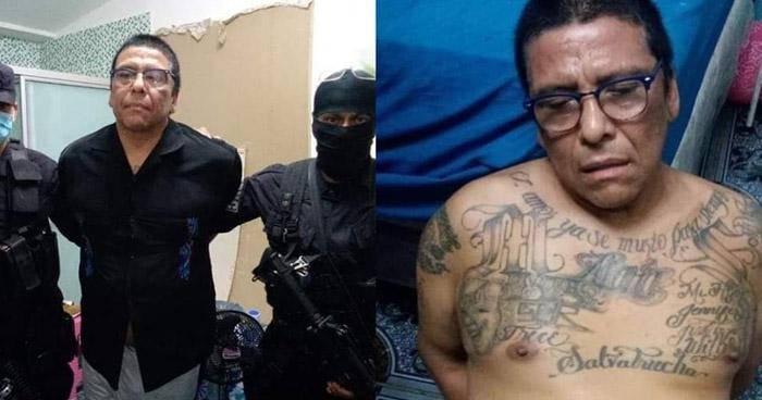 Capturan a peligroso cabecilla de la MS en Nahuilingo, Sonsonate