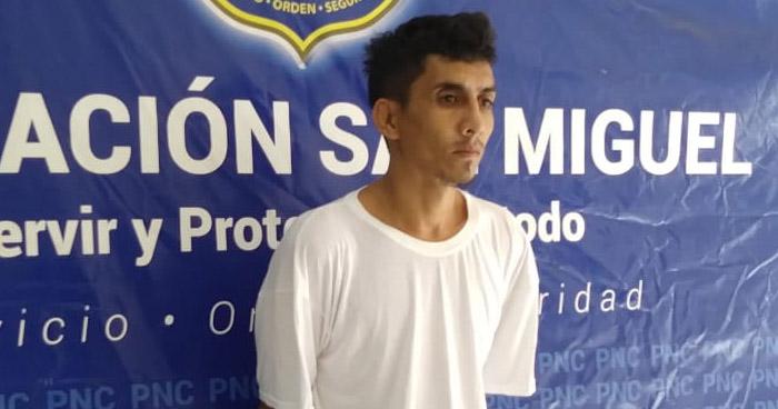 Capturan a pandillero buscado por asesinatos cometidos en San Miguel