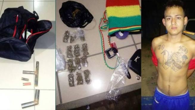 Capturan a pandillero y a dos menores de edad por diferentes delitos en Santa Ana