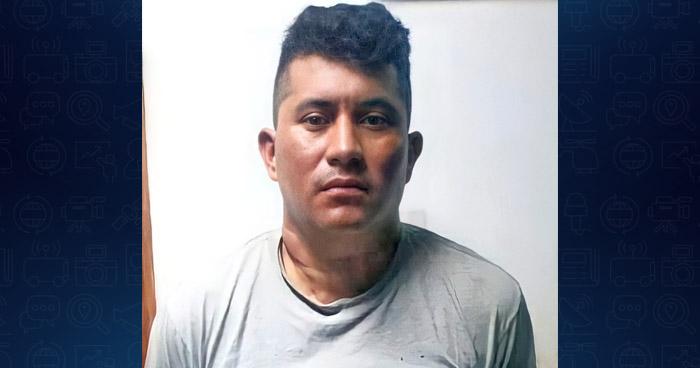 Capturado por homicidio agravado en Morazán