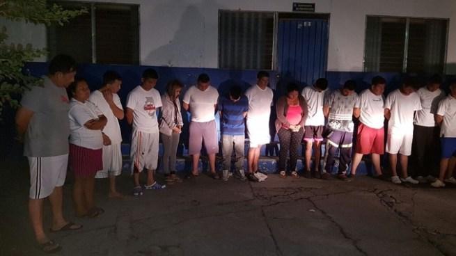 Operativo policial desarticula estructura delincuencial en Cuscatancingo