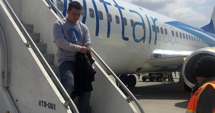 Deportan de Estados Unidos a pandillero salvadoreño buscado por extorsión