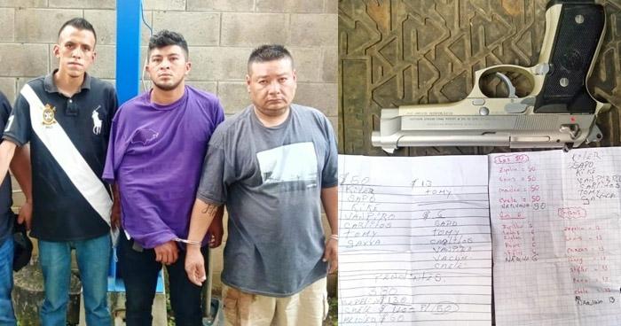 Capturan a cuatro miembros de la MS13 que delinquían en San Salvador
