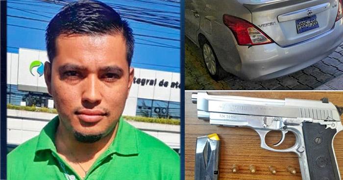 Capturado en San Salvador tras robar $7,000