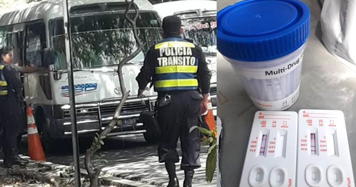 Motorista de la Ruta 38D conducía bajo los efectos de cocaína